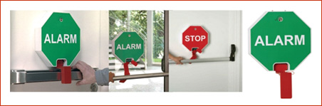 GFS alarm za izhod ob paniki za vodoravni potisni drog / www.timopara.si