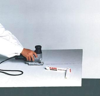 Obdelava plošč Promatect MC z rezanjem v postopku sanacije zidne plesni in kondenzne vlage / www.timopara.si